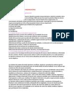 El Proceso Para El Diseño Organizacional