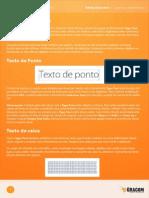 #12 - Texto e Blend (Material Complementar)