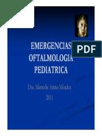Emergencias Oftalmologia Pediatrica