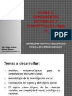 Unidad 6 Fundamentos Históricos y Conceptuales Siglo XX