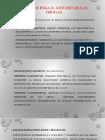 Métodos para el estudio de las Drogas.ppt