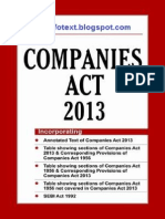 Rules under Companies Act 2013