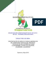 ADS No 023-2012, SistRiegoLluchubamba