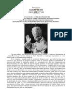 Alocução IMPORTANTE Pio XII Eucaristia Magistério
