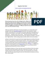 Egyptian Gods Index