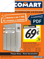 Bricomart Folleto Madrid Rivas Vaciamadrid 23-10-2012