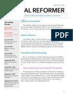 NorCal Reformer 29 (May 9, 2014)