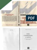 Wolff, Robert Paul - Para Comprender a Rawls. Una Reconstruccion y Una Critica de La Teoria de La Justicia