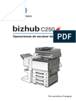 Bizhub c250 Um Scanner-operations Es 1-1-1 Phase3