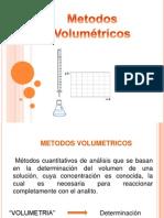 Unidad III. Métodos Volumetricos