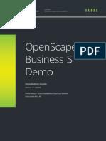 OpenScape Business S Demo Installation Guide