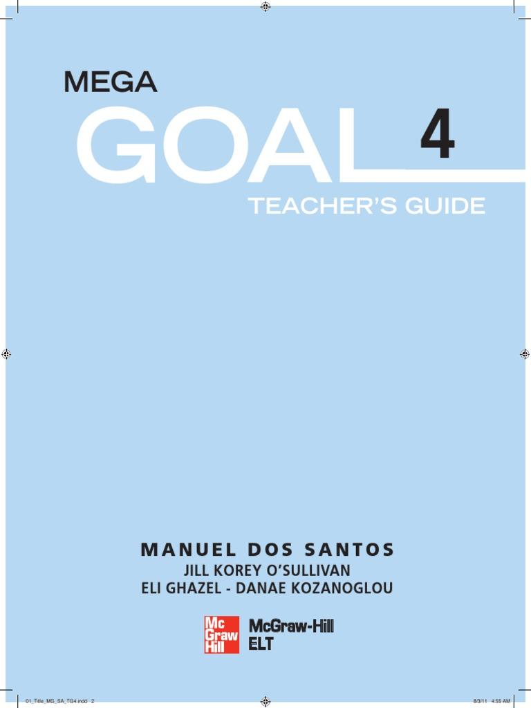 MEGA GOAL STUDENT BOOK 4 | Educational Assessment | Reading (Process)