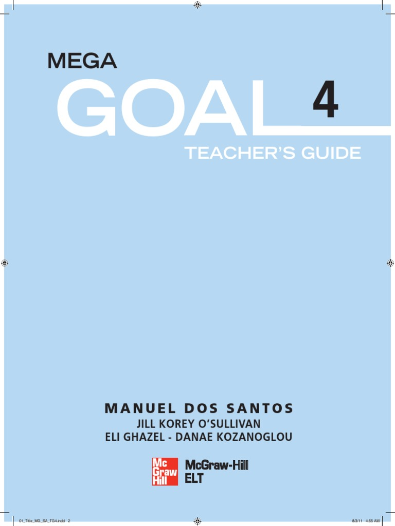 Mega goal student book 4 educational assessment reading process fandeluxe Image collections