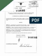 Decreto 486 Del 14 de Marzo de 2013