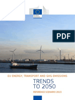 Ec - Eu Energy, Transport and Ghg Emissions Trends to 2050, Reference Scenario 2013