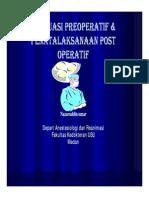 Pre - Post Operasi