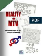 Reality on MTV