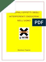 Principali Effetti Degli Interferenti Endocrini Nell'Uomo