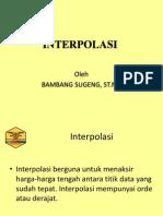 Interpol as i