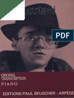 Michel Petrucciani - 7 Originalpiano Transcriptionsbeuscher-Alpege - 78p