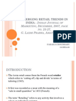 47869720 Emerging Retail Trends in India Indian Journal