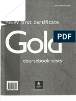 New Gold FCE Tests