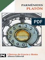 Parménides (Platón [Ed. Alianza])
