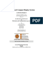 gsm display system