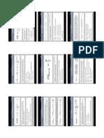 Sample Finance Formulae