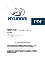 Hyundai Motor India Direct Recruitments Offer