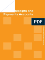 Sample of Receipt & Payment Account