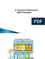 Oracle Instance Arch Transaction Example