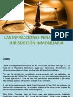 Las Infracciones Penales en La Jurisdicción Inmobiliaria