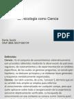 Clase Del Dia 27 Marzo 2014 La Psicologìa Como Ciencia