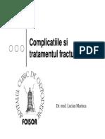 02. Complicatiile fracturilor