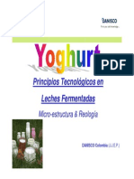DANISCO Tecnologia Yogurt
