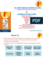 KIDS CARE REHAB CENTER & PHYSIO CARE,CHENNAI,INDIA