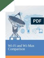 WIFI WIMAX Comparison
