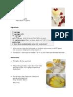 Lemon Curd and Mousse