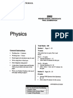 SGS 2002 Physics Trial