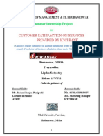 A summer internship Project ON