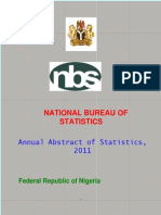 Nigeria Annual Abstract of Statistics 2011