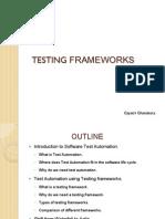 Basics Automation Framework