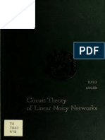 Circuit Theory of Linear Noisy Networks Haus and Adler