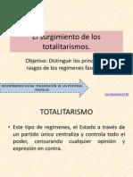 El Surgimiento de Los Totalitarismos