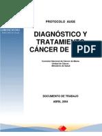 Diagnostico y Tratamiento Cancer de Mama