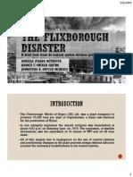 The Flixborough Disaster.