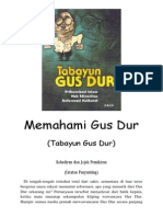 Memahami Gus Dur (Tabayun Gus Dur)