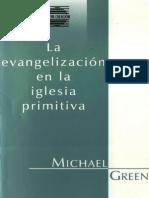 Green Michael - La Evangelizacion en La Iglesia Primitiva