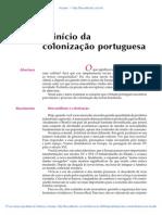05 O Inicio Da Colonizacao Portuguesa
